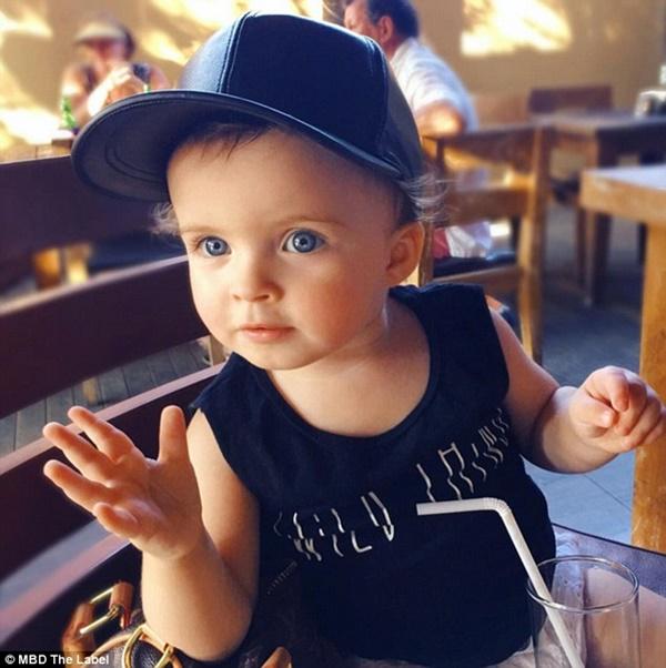 Millie-Belle sắp có nhãn hiệu thời trang mang tên mình dù chỉ mới 22 tháng tuổi