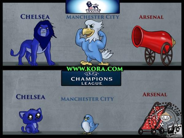 Một năm thất bát của bóng đá Anh.