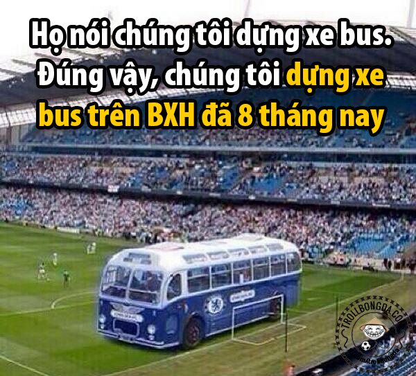 Chiếc xe bus của Chelsea