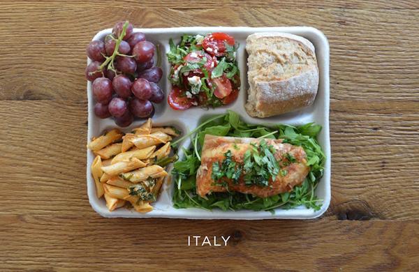 Khám phá bữa trưa của học sinh trên toàn thế giới