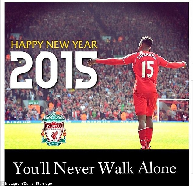 Daniel Sturridge chia sẻ tình yêu với Liverpool