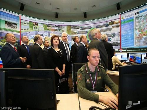 Trung tâm chỉ huy quốc phòng này chính thức bắt đầu làm nhiệm vụ trực chiến từ ngày 1.12.2014.
