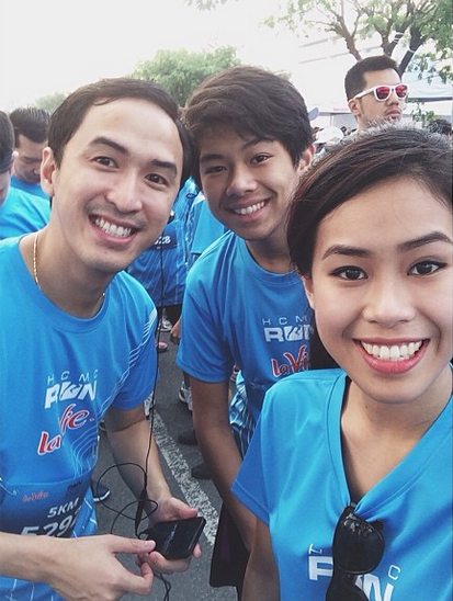 Ngoài phụ giúp công việc kinh doanh của gia đình, Thảo Tiên còn rất tích cực tham gia các hoạt động xã hội.