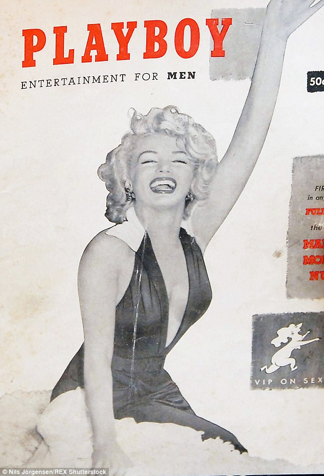 Marilyn Monroe xuất hiện trên tạp chí Playboy vào tháng 12/1953.