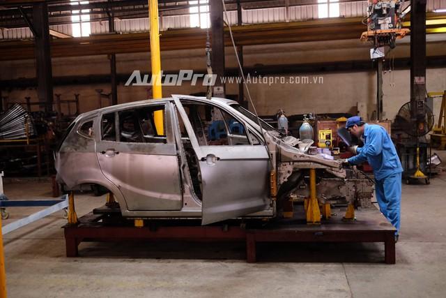 Hiện nay tại nhà máy Vinaxuki chỉ còn một lượng nhỏ kỹ sư, thợ cơ khí tiếp tục duy trì hoạt động sản xuất và hoàn thiện những chiếc xe.