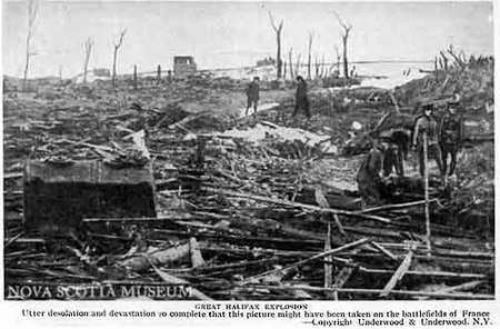 Vụ nổ tàu SS Mont-Blanc gây rúng động dư luận năm 1917