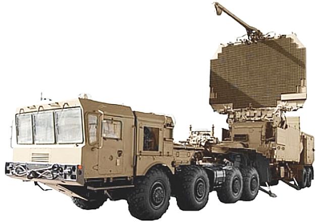 Radar 91N6E có thể phát hiện tới 300 mục tiêu ở cự ly tới 600 km.