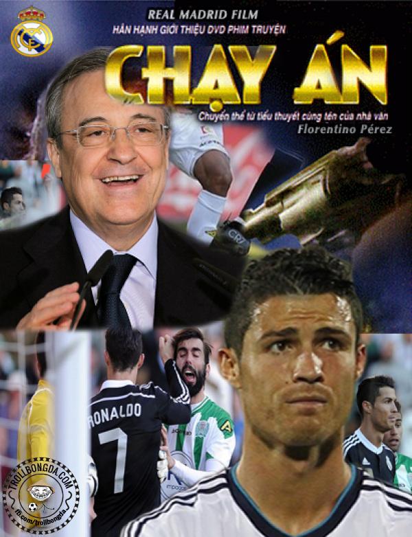 Cả Real Madrid đang tích cực vận động nhằm tránh cho CR7 một án phạt nặng