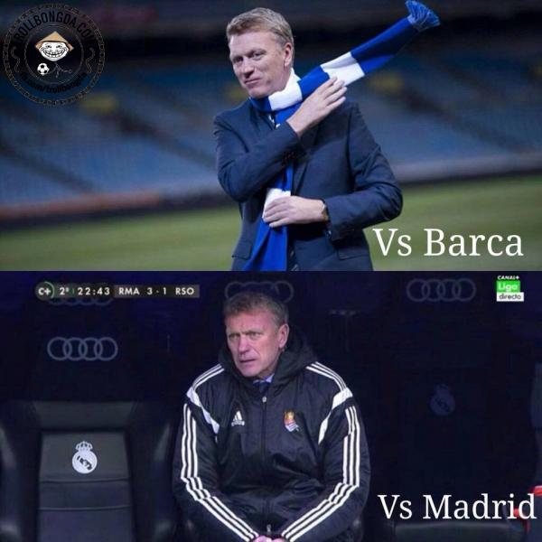 David Moyes không làm gì được Real Madrid rồi