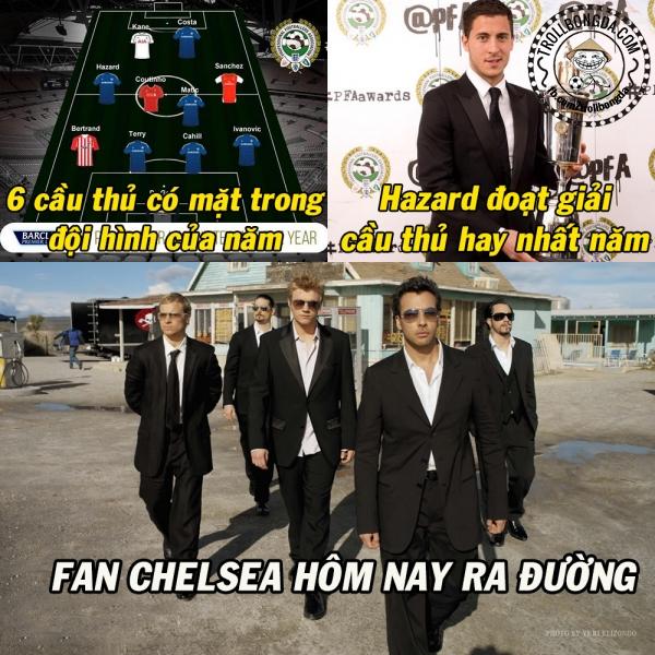 Fan Chelsea thách thức tất cả