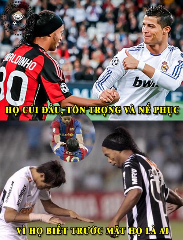 Ai cũng yêu quý Ronaldinho