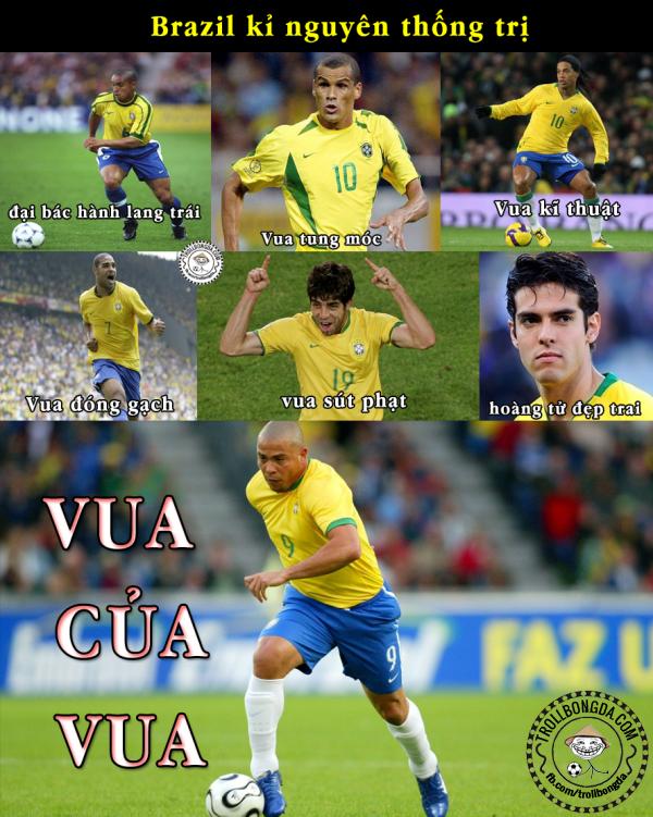 Brazil một thời lừng lẫy