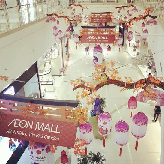 Ở Cresent Mall hay Aoen đều có không gian mở để khách hàng có đủ không gian tham khảo sản phẩm mà không cảm thấy áp lực từ lượng khách dồn về đây.
