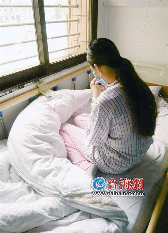 Cô gái đáng thương đang nằm điều trị tại bệnh viện