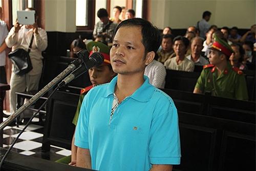 Bị cáo Minh trong phiên xét xử (Ảnh: Internet)