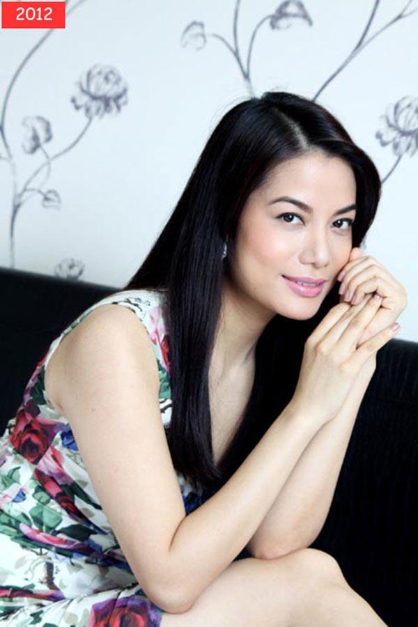 Năm 2012, Trương Ngọc Ánh trở lại với hình ảnh dịu dàng, quyến rũ thường thấy.
