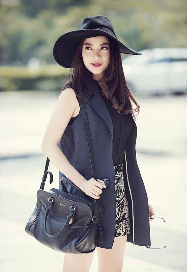 Phong cách thời trang dạo phố thời thượng của Trương Ngọc Ánh.