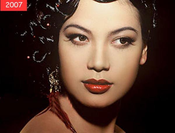 Năm 2007, Trương Ngọc Ánh thử nghiệm hình ảnh quý cô sang trọng, quyến rũ.