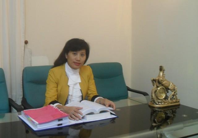 Luật sư Trịnh Cẩm Bình.