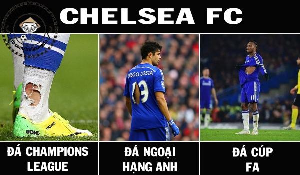 Chelsea đá ở đâu cũng tơi tả thế này ư?
