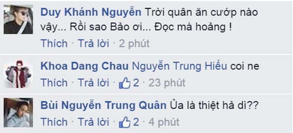 Nhiều nghệ sĩ cũng xôn xao về hoá đơn của BB Trần.