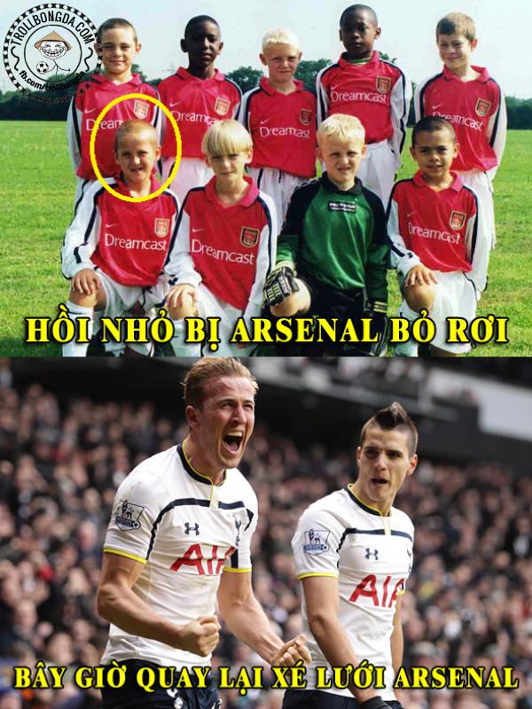Arsenal có hối hận vì bỏ mất Hary Kane?