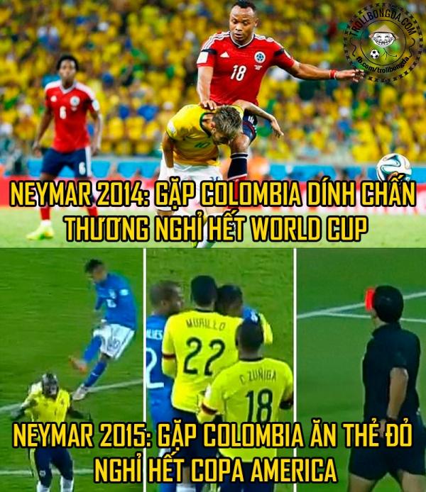 Neymar có vể không có duyên với các giải đấu.