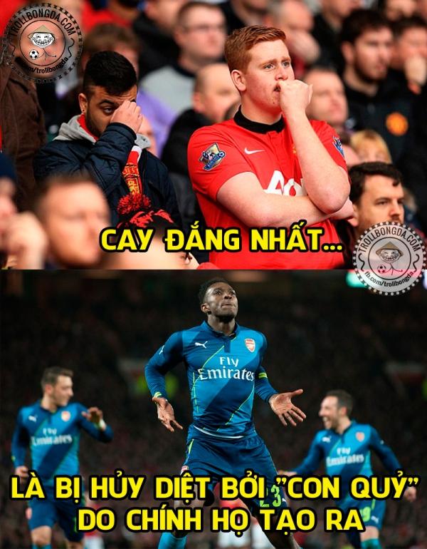 Khổ thân fan Man United