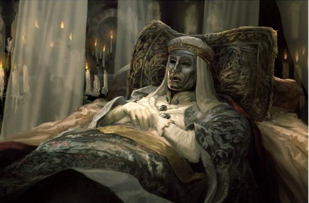 Vua Baldwin trên giường bệnh
