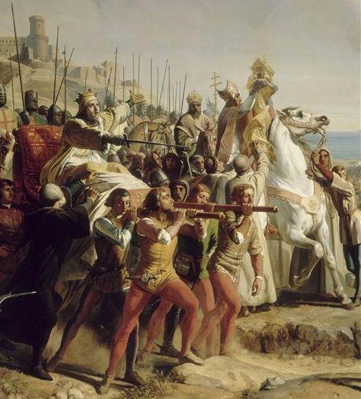 Vua Baldwin chỉ huy quân