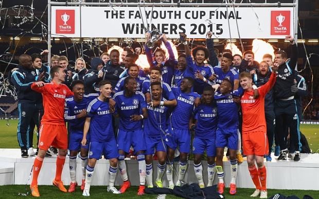 Đội trẻ Chelsea vô địch