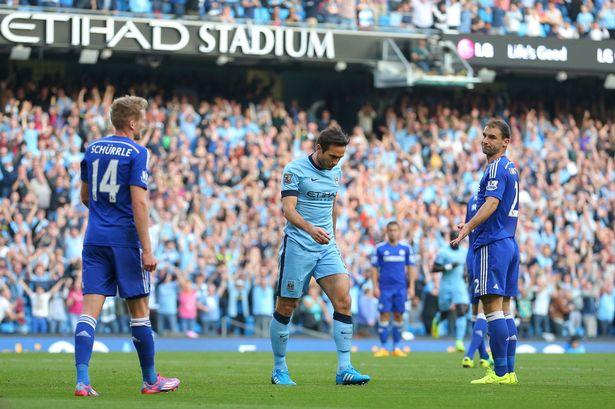Lampard đã ghi cả bàn vào lưới Chelsea cho Man City