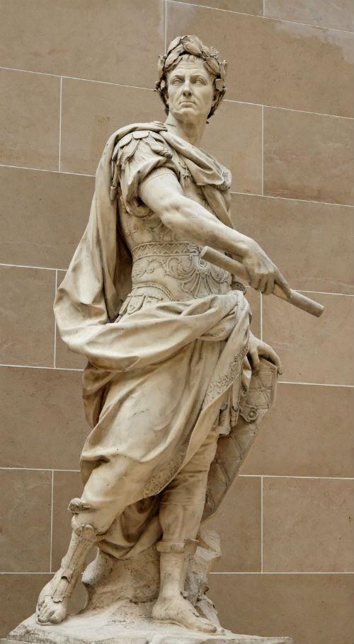 Bức tượng Caesar tại bảo tàng Louvre, Pháp
