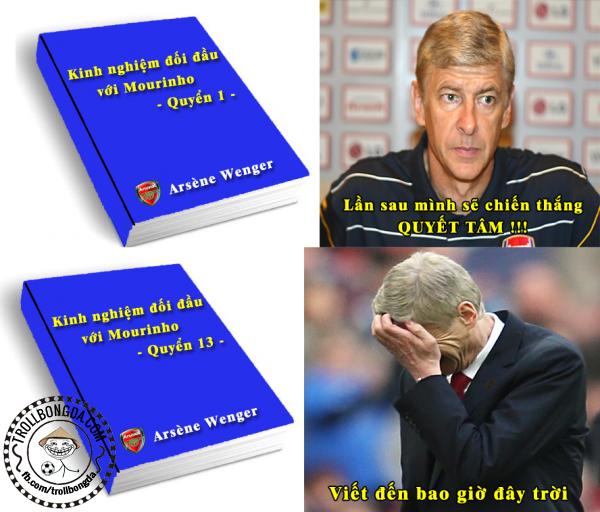 Cơn ác mộng chưa dứt của Wenger