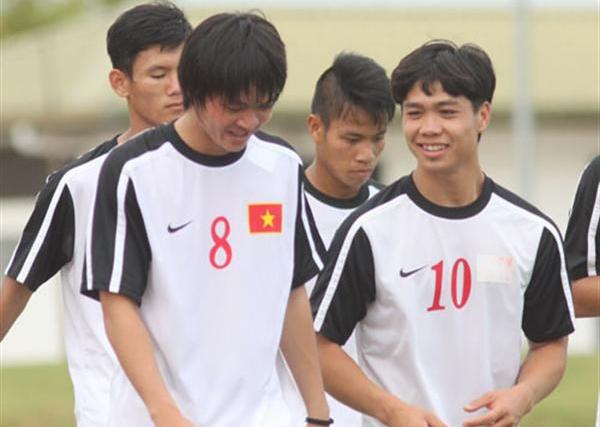 Công Phượng, Tuấn Anh trong màu áo U19 Việt Nam