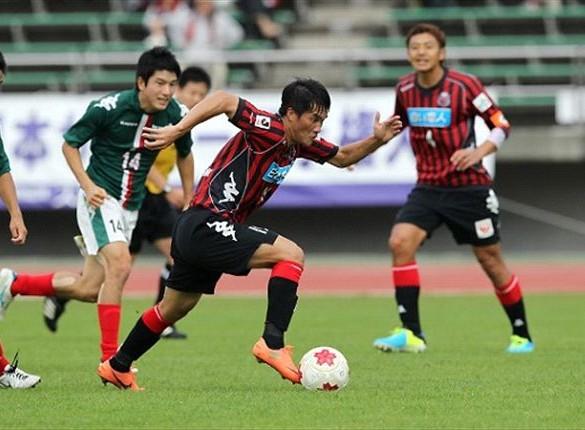 Công Vinh từng rất vất vả tại J-League 2.