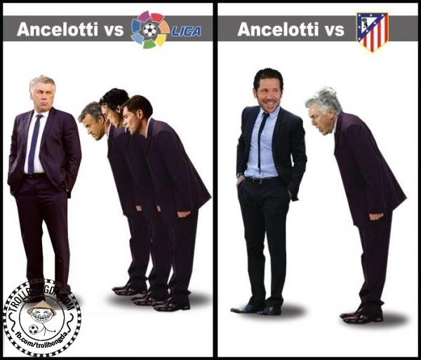 Ancelotti và Atletico