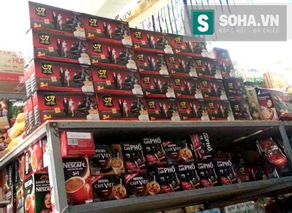 Một số siêu thị cam kết vẫn cung cấp đầy đủ cà phê hòa tan G7 dù Trung Nguyên ngừng sản xuất nửa tháng qua.