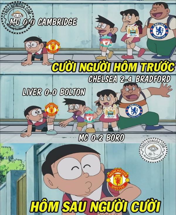 CĐV Man United cũng đang vui không kém