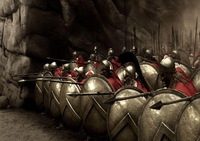 Sparta là một trong những đội quân ưu tú, hùng mạnh nhất thế giới cổ đại. Hình minh họa
