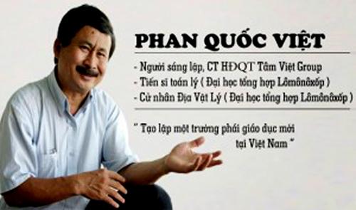Theo TS.Phan Quốc Việt: Nhiều người đi nước ngoài về cũng không nói được tiếng Anh.