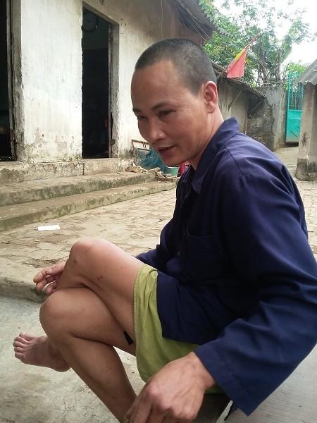 Anh Lê Văn Sinh.