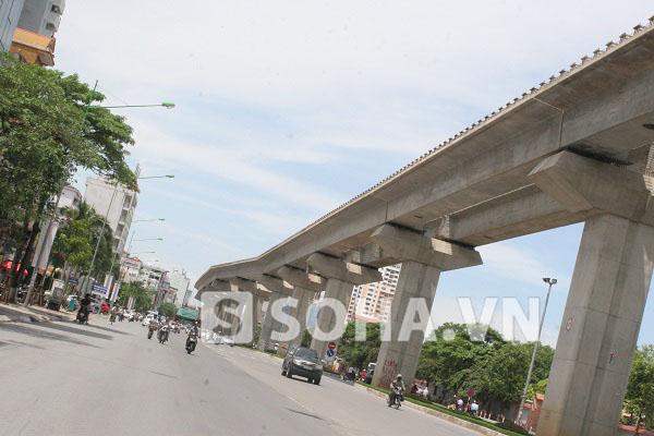 Đoạn gần trường Đại học Kiến trúc Hà Nội