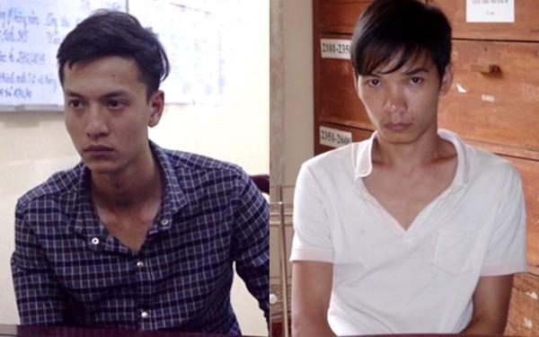 Hai nghi phạm trong vụ trọng án ở Bình Phước gồm Dương (bên trái) và Tiến (bên phải).