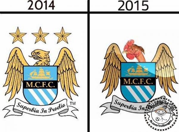 Đại bàng Man City đã hóa gà