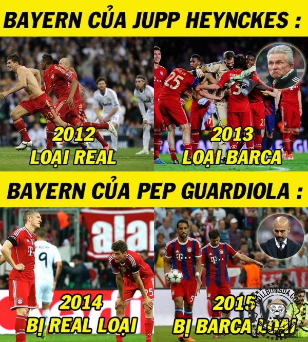 Pep Guardiola không bằng người tiền nhiệm
