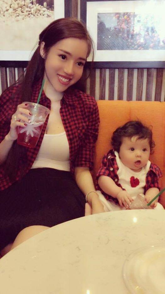 Elly Trần cũng rất tự hào về cô con gái bé bỏng