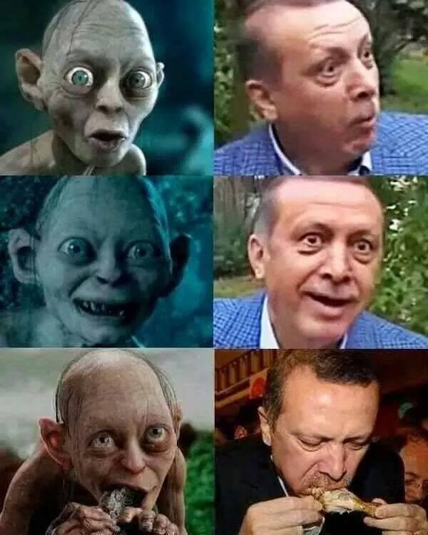 Những hình ảnh chế khiến bác sĩ người Thổ Nhĩ Kỳ vướng vào rắc rối pháp lý với cáo buộc xúc phạm Tổng thống. Ảnh: The Verge