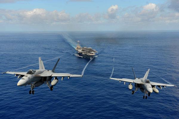 Tốc độ tối đa của tiêm kích trên hạm F/A-18E/F Super Hornet chỉ khoảng Mach 1,8 so với Mach 2,5 của J-11.
