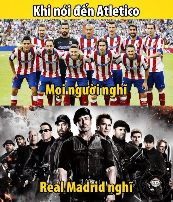 Real vẫn luôn sợ Atletico